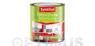Pintura para paredes, techos y suelo - BARNIZ EFECTO DECORATIVO RENOV\'COCINA METALIZADO-0,5L