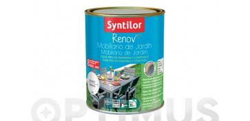 Pintura para paredes, techos y suelo - PINTURA RENOV MUEBLES JARDIN BLANCO-0,75L
