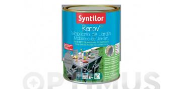 Pintura para paredes, techos y suelo - PINTURA RENOV MUEBLES JARDIN GRIS MINERAL-0,75L