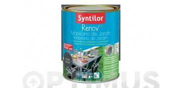 Pintura para paredes, techos y suelo - PINTURA RENOV MUEBLES JARDIN PIZARRA-0,75L