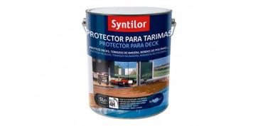 Proteccion y tratamiento para madera - PROTECTOR TARIMAS AQUARETHANE NATURAL-0,75L