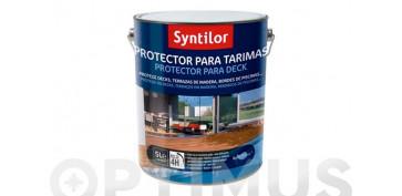 Proteccion y tratamiento para madera - PROTECTOR TARIMAS AQUARETHANE TECA-5+1L
