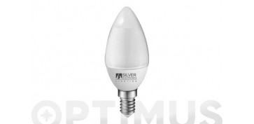 LAMPARA VELA ECO LED 436LM (PACK 4UN) E14 5W 6000K