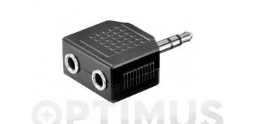 Instalación imagen, sonido y telefonía - ADAPTADOR JACK 3,5 M A 2 JACK 3,5 H