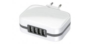 Instalación imagen, sonido y telefonía - CARGADOR 4 USB CARGA RAPIDA 6,8A