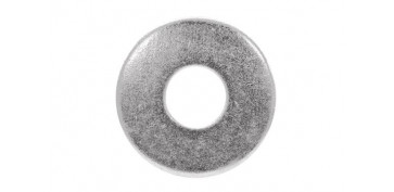 Fijación y Tornilleria - ARANDELA PLANA ANCHA DIN-9021 ZINCADA 10 MM (75 UNIDADES)