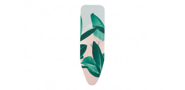 FUNDA MESA PLANCHAR 124X38 TROPICAL LEAVES