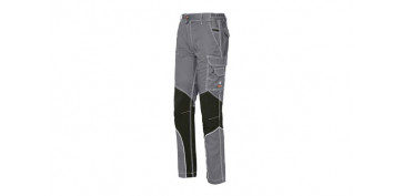 PANTALON STRETCH EXTREME GRIS CLARO T M SLIM FIT