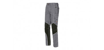 PANTALON STRETCH EXTREME GRIS CLARO T XXL SLIM FIT
