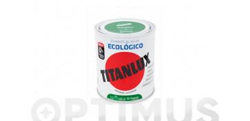 Esmaltes - ESMALTE AL AGUA BRILLANTE 750 ML BLANCO PIEDRA