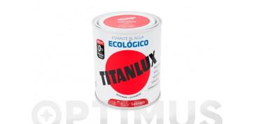 Esmaltes - ESMALTE AL AGUA SATINADO 750 ML ROSA FRAMBUESA