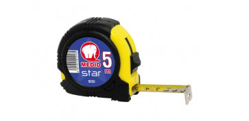 Medidores de distancias - FLEXOMETRO BIMATERIAL STAR B 5X19 MM