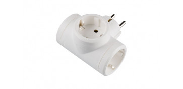 ADAPTADOR TRIPLE 10/16A BLANCO
