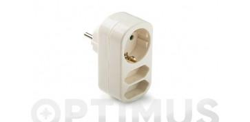Material instalacion electrico - ADAPTADOR TRIPLE TT 10/16A