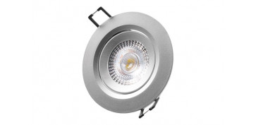 DOWNLIGHT LED DE EMPOTRAR Ø7,4CM 380LM CROMADO 5W 6400K