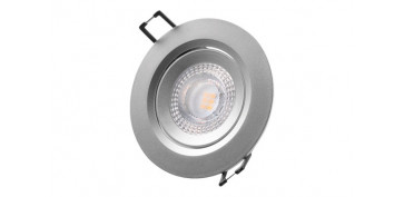 DOWNLIGHT LED DE EMPOTRAR Ø7,4CM 380LM CROMADO 5W 3200K