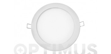 DOWNLIGHT LED DE EMPOTRAR Ø20CM 1500LM BLANCO 20W 4000K