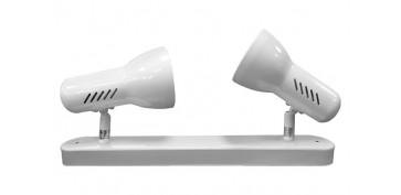 Iluminacion vivienda - FOCO 2 ELEMENTOS GALAXY E27 60W