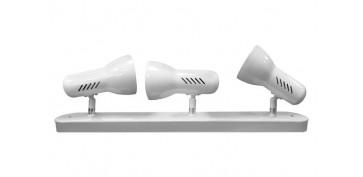 Iluminacion vivienda - FOCO 3 ELEMENTOS GALAXY E27 60W