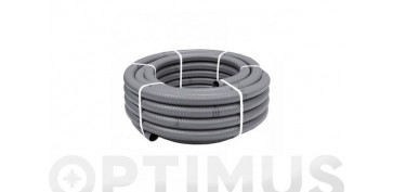 OPTIMUS GUIA FERRETERIA 2019 - TUBO FLEXIBLE EVACUACION PVC GRIS Ø 32 MM 25 MT