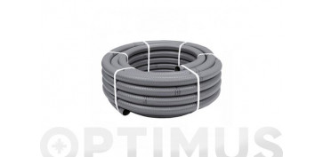 OPTIMUS GUIA FERRETERIA 2019 - TUBO FLEXIBLE EVACUACION PVC GRIS Ø 40 MM 25 MT