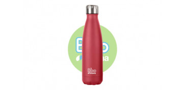 BOTELLA TERMO INOX750 ML ROJO