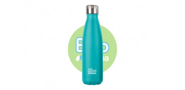 Reutilizable Eco-Friendly - BOTELLA TERMO INOX750 ML TURQUESA