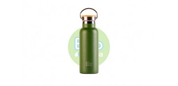 Reutilizable Eco-Friendly - BOTELLA TERMO CON TAPON BAMBU500 ML
