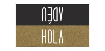FOLLETO CALEFACCION 19 - FELPUDO COCO ESTAMPADO 40X70 HOLA / ADEU