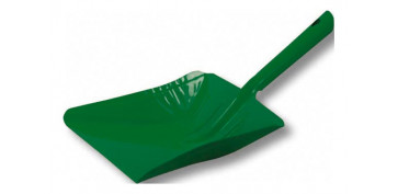 Utiles de limpieza - RECOGEDOR METALICODE MANO