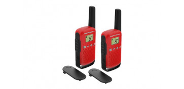 Electronica - INTERCOMUNICADOR WALKIE TALKIET42 RED PACK