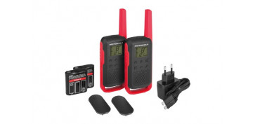 Electronica - INTERCOMUNICADOR WALKIE TALKIET62 RED PACK