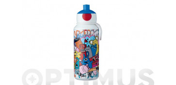 Reutilizable Eco-Friendly - BOTELLA POP-UP CAMPUS 400 MLGRAFFITI