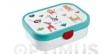 Menaje - CONTENEDOR LUNCH BOX CAMPUSANIMAL FRIENDS