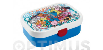 Reutilizable Eco-Friendly - CONTENEDOR LUNCH BOX CAMPUSGRAFFITI