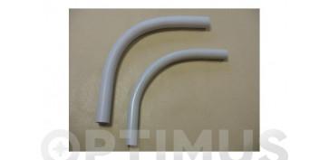 Material instalacion electrico - CURVA ROSCADA GRIS (20 UDS)M-20