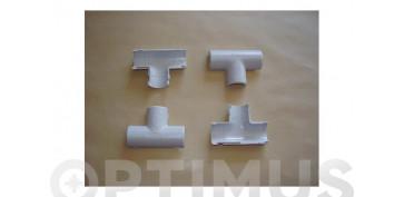 Material instalacion electrico - TE GRIS (25 UDS)25 MM