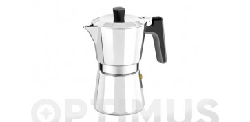 Reutilizable Eco-Friendly - CAFETERA ALUMINIO PERFECTA6 TAZAS-FULL INDUCTION