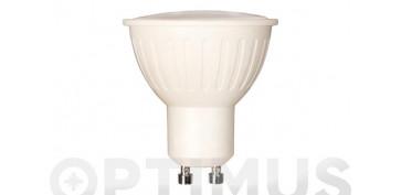 LAMPARA LED DICROICA 120º 400LM (5UNIDADES)GU10 5W CALIDA