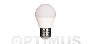 LAMPARA LED ESFERICA 480LM (5UNIDADES)E27 6W FRIA