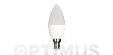 LAMPARA LED VELA 480LM (4UNIDADES)E14 6W FRIA