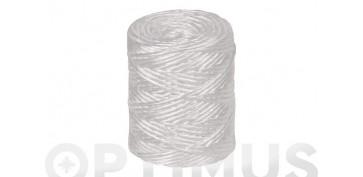 Cuerdas y cintas - HILO RAFIA 600 1C (1,7MM)700 GR BLANCO