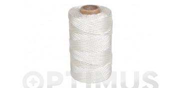 Cuerdas y cintas - CORDON RIEL PP Ø 2,5 MM200 MT BLANCO