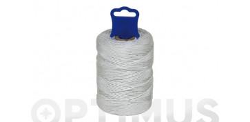 Cuerdas y cintas - CORDON RIEL PP Ø 2,5 MM15 MT BLANCO