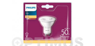 LAMPARA LED DICROICAGU10 4,7W LUZ CALIDA