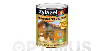 Proteccion y tratamiento para madera - SOL LASUR SATINADO CASTAÑO750 ML