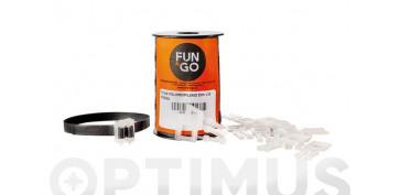 Productos para embalaje - FLEJE POLIPROPILENO 25M + 15 PINZASNEGRO