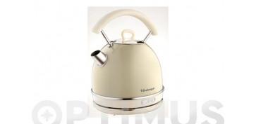 Electrodomesticos de cocina - HERVIDOR VINTAGE2000W-1,7 L BEIGE