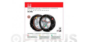 Productos para el automovil - CADENAS METÁLICAS PARA LA NIEVE E-9 NEOE-9 NEO / 80
