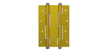 BISAGRA DOBLE ACCION MOD.3035180X133 MM ALUMINIO ORO